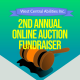 Online auction header
